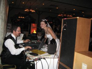 Bride Requesting Songs